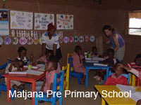 Matjana Pre-Primary School Volunteer Project- Swaziland